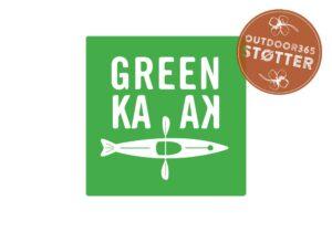 green-kayak-støtte-mærke