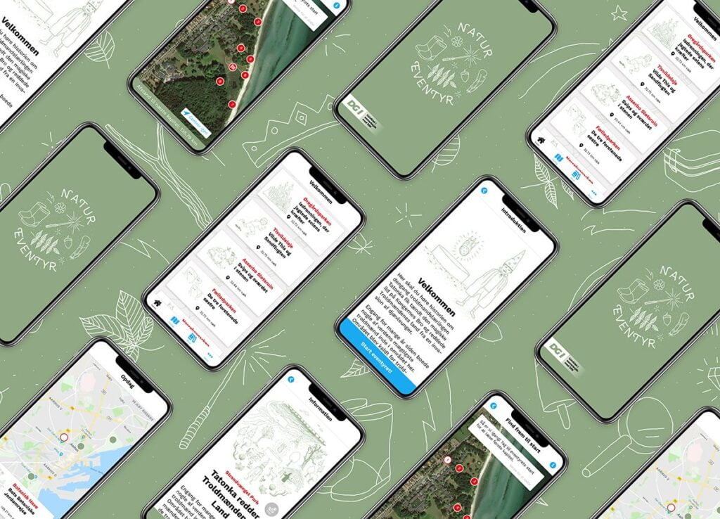 natureventyr-Telefonskærmdumps